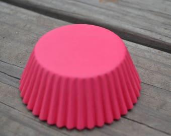 50 Hot Pink Standard Cupcake Liners/Cupcake Liners/Cupcake/Liners/Liners/Cupcake/Easter Cupcake Liners