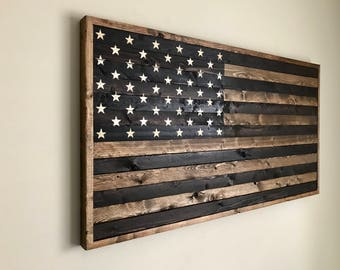 Reclaimed Wood Flag
