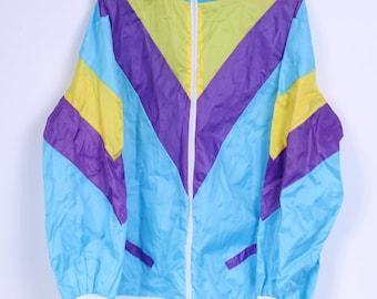 Smiffys Fun Mens XL Jacket Zip Up Lightweight Three Colours Top