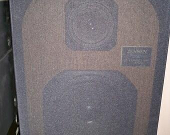Vintage Jensen 2651 2 Way Bookshelf Speakers - Made in the USA