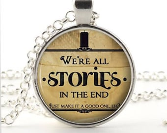 Book quote cabochon, jewellery, pendant, librarian gift, writers gift, teachers gift, book worm, book lovers, bibliophile, literary necklace