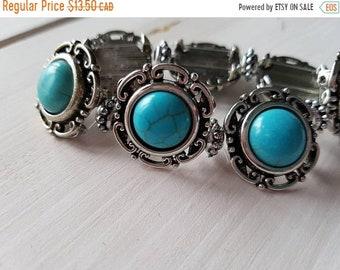 Sale Sale Sale Turquoise love stretch bracelet