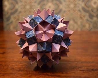 Origami Queen's Crown Kusudama