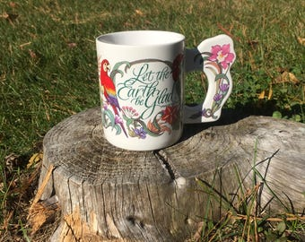 """Psalm Mug: """"Let the Earth Be Glad"""""""