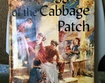 Vintage 1928 Mrs Wiggs of the Cabbage Patch Book - Book Jacket intact child toy rice