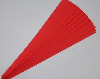 Red : Lucky Stars Paper Strips (100)