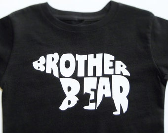 Brother Bear Shirt, Brother Bear Bodysuit, Personalized Shirt Boy, Brother To Be, Brother Shirt, Gift For Brother, Matching Family Shirts.