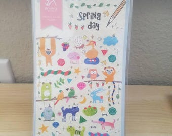 Spring Day Sticker Sheet