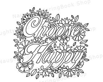 Gratitude Printable Gift Coloring