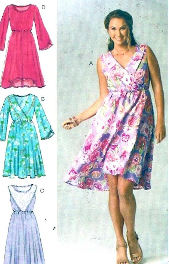 Sommer-Boho Kleid Pullover lässigen Stil Schnittmuster McCalls