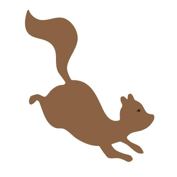 Eichhörnchen-Wand-Schablone für Malerei Kinder oder Babys