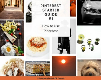 How to Use Pinterest Guide. Step by Step Printable PDF Pinterest Tutorial. 1 of 5 Pinterest Social Media Guides for Beginners | P11
