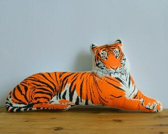Silkscreen Tiger Pillow