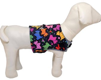 Colorful Scottish Terrier Dog Vest