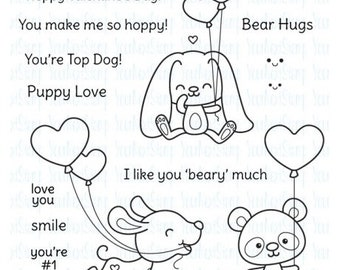 Your Next Stamp Love and Smiles Clear Stamps