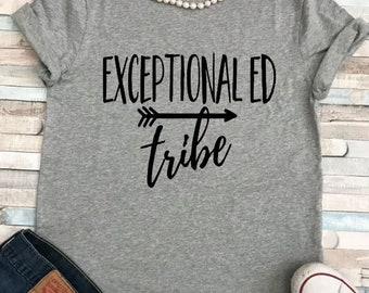 Exceptional Ed Teacher/Special Education EC Teacher sizes up to 5XL