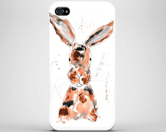 Iphone 7/6/5/4, Samsung S4/S5/S6/S7, phone case, case, rabbit phone case, strong case, rabbit, bunny phone cae, hare phone case