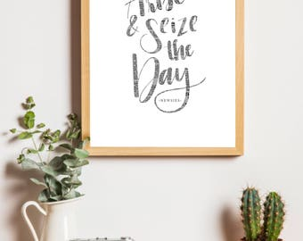 Arise & Seize The Day - Newsies Digital Print