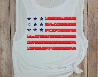 american flag, color, independence day, forth of july shirt, fourth of july, july 4th, american flag tank, country music tank, flag tank