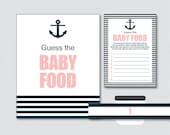 Nautical Baby Shower Game...