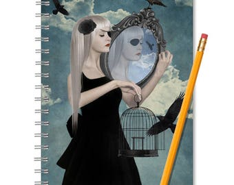 Surreal Notebook - Surreal Journal - LINED OR BLANK pages, You Choose