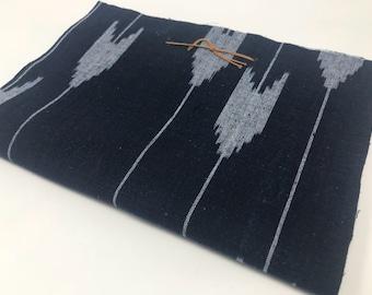 Indigo fabrics 10 pieces for patchwork (Three arrows)