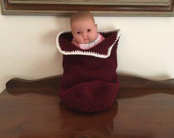 Crochet Cuddle Sack