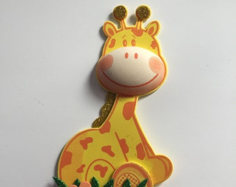 Animal foam, Giraffe foam, party decor,centerpiece supplies,Giraffe party decor, zoo animal decor, party craft , Giraffe birthday party