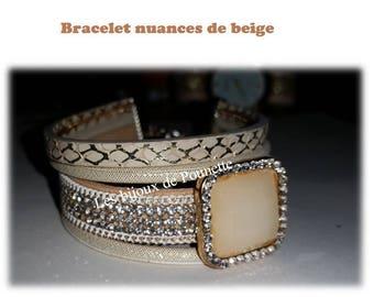 Cuff style bracelet