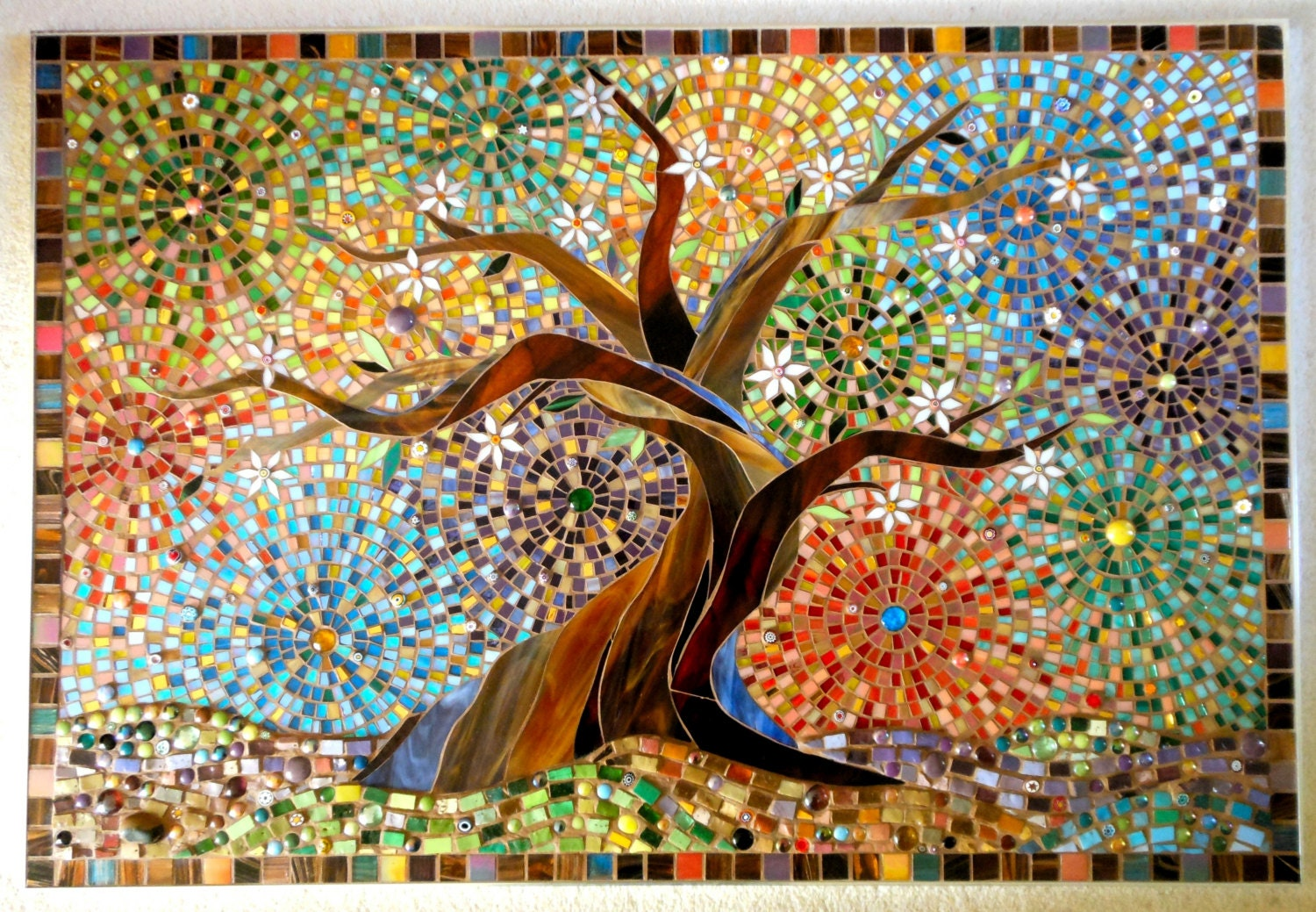 8 Days of Tips: #2-Easy Canvas Artwork   Don't Buy a Thing  Simple Tree Life Painting