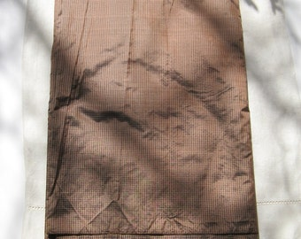 "BEAUTIFUL VINTAGE SILK Fabric, 11 yards x 16"", excellent condition."