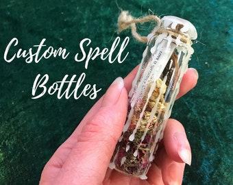 Custom Spell Bottles
