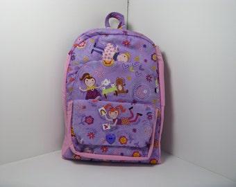 Tea Party Preschool Backpack