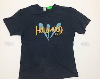 Vintage 80's Hollywood 87 Tee