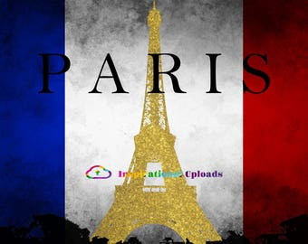 Paris - 12x14 HD Digital Download