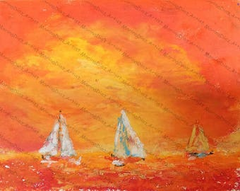 Orange Skys