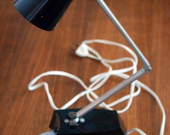 Penetray Desk Lamp/Folding Arm/Swivel Lamp/Black Retro Light/Working Vintage Lighting/Student Light/Home Decor/Vintage Home/Home Office Lamp