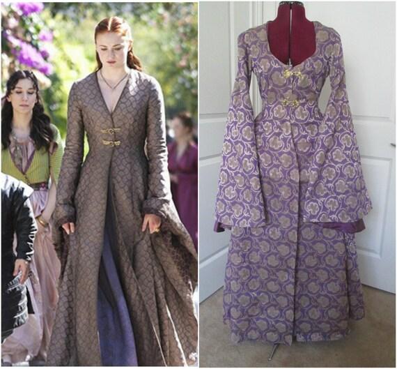Sansa stark gown game of thrones costume got cosplay solutioingenieria Choice Image