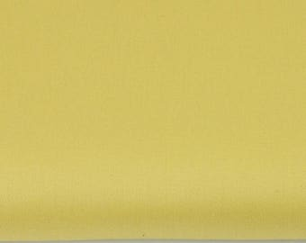 mustard yellow 100% cotton sateen fabric 50cm