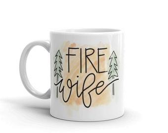 Fire wife -color- Mug