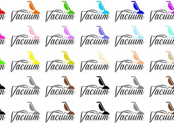 Vacuum Wordy Icons WI0010