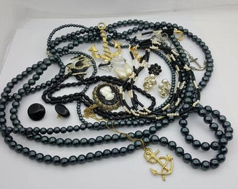 Vintage Jewellery lot 12 pieces Ready to wear KJL West Germany  Upcycle Harvest
