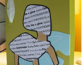 Eames Chair Greetings Card