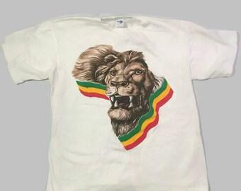 90s Africa Lion T shirt