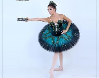 Esmeralda Professional Ballet Tutu  sc 1 st  Etsy & Cupid diana professional ballet costume