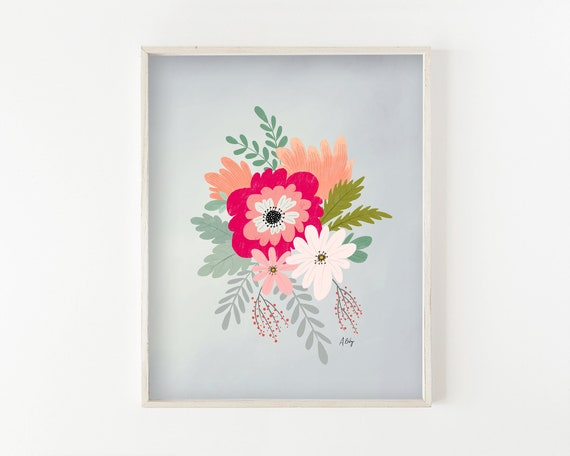 """Spring Flowers"" - wall art prints"