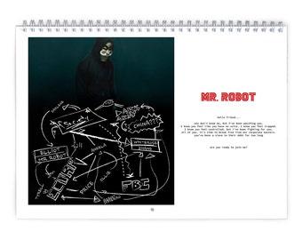 MR.ROBOT / Season2 - 2018 Calendar
