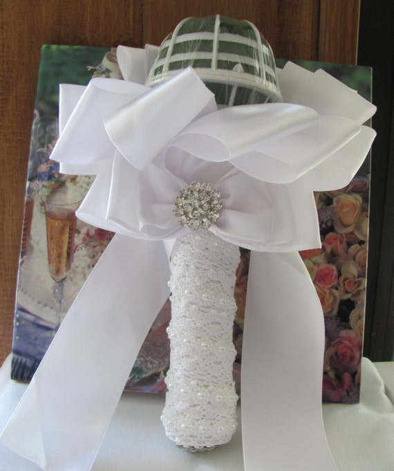 Bridal Bouquet Holder, Wedding Bouquet Holder. DIY Bridal Bouquet ...