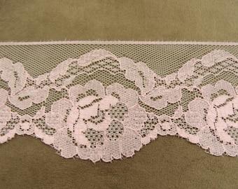 LACE Ribbon - 7 cm - pink