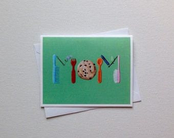 Mom Card / Funny Greeting Card / Funny Mother's Day Card / Blank Card / Blank Mother's Day Card / Funny Mom Card